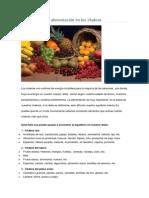 Cómo Influye La Alimentación en Los Chakras
