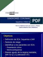 Sindromes Coronarios Agudos 2011 2012