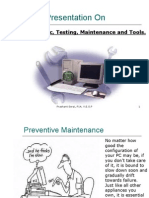PC Diagnostic, Testing, Maintenance and Tools - Prashant Serai