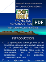 Proyectos Agroindustriales i -Clase 1