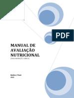 Manual de Avaliação Nutricional - Área Nut Rição Clínica