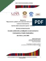 Escuelas Unidocente Multigrado Guatemala