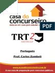Apostila TRT SP Portugues Zambeli
