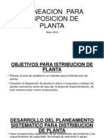 Planeacion de Planta