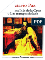 Sor Juana Inés de La Cruz o Las Trampas de La Fe_ Paz