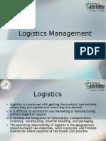 Logistics Mgmgt