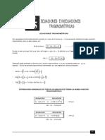 Ecuaciones e Inecuaciones Trigonométricas