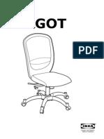 Vilgot Swivel Chair AA 487068 7 Pub