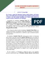 1964 - ACTA N°09
