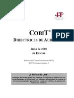 Cobit 3 Spanish Audit Guidelines
