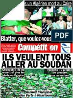 Edition 16 novembre 2009