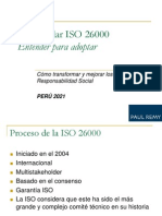 El Estandar ISO 26000