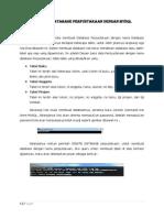 Membuat Database Perpustakaan Dengan Mysql