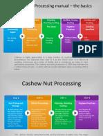 Cashew Nuts Processing - UNIDO