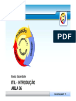Aula 06 - ITIL - Introducao