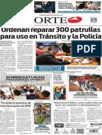 Periódico Norte edición impresa del día 25 de mayo del 2014