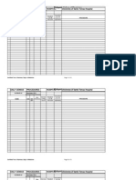 Procedure Census Template