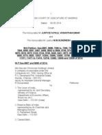 Deccan Chronicles Holdings Ltd v. UOI