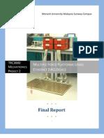 Enhanced Hardware Design of Force Platform - Report