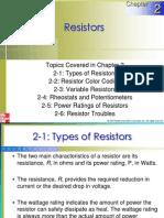 Chapter 02 Resistors