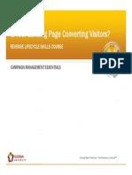 Eloqua Landing Page Optimization and Best Practices