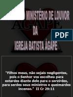 Reunião Do Ministério de Louvor Da Ibagape