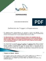 Disparadores Con MySQL