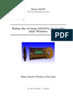 Hướng dẫn GEANT4 cho Windows