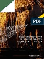 Riesgos Sector Minero