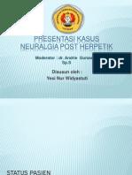 Neuralgia Pasca Herpetik