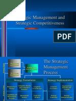 Strategic Management and Strategic Competitiveness