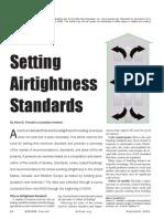 Setting Airtightness Standards6