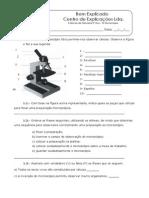 3.1 a Célula Unidade Na Constituição Dos Seres Vivos - O Microscópio - Ficha de Trabalho (1)