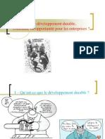 Thème 8 - Le Développement Durable Contrainte Ou Opportunité Pour l'Entreprise
