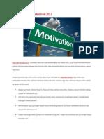Kumpulan Kata Kata Motivasi 2012