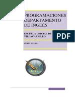 Inglés Programacion 2013 14
