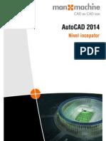AutoCAD 2014 Limba Romana-nivel.incepatori