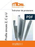 Indrumar Tehnic Profile Zincate