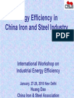 Energy Efficiency in CHN Steel Huang Dao