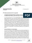 Waldzustandsbericht 2013 vorgestellt Forstminister Alexander Bonde