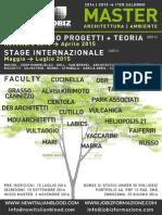 Master Architettura-Ambiente 2014