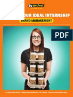 Getting Your Ideal Internship Brand Management