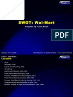 Wal Mart Swot