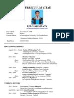 Khleang Sovann CV (January 2015)