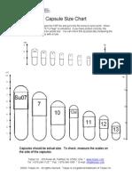 Capsule Size Chart