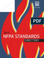 NFPA Standards Directory 2014
