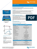 Blue Solar Charge Controller MPPT 70-15A - Fisa Tehnica