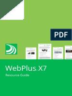 WebPlus X7 ResourceGuide En . Manual