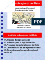 Análisis Subregional Del Meta