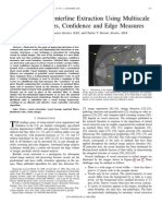 Retinal Vessel Centerline Extraction Using Multiscale Matched Filters, Confidence and Edge Measures